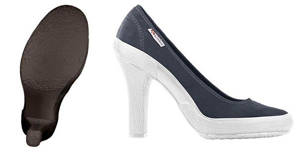 zapatos de tacón Superga High Heel chollo