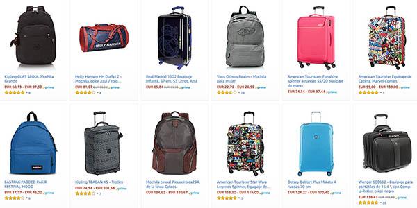 10€ de descuento en selección de maletas y trolleys en Amazon