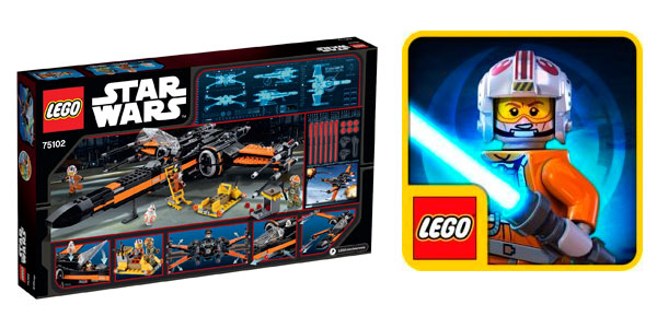 LEgo Star Wars Poe's X-Wing Fighter El Despertar de la Fuerza rebajado Amazon