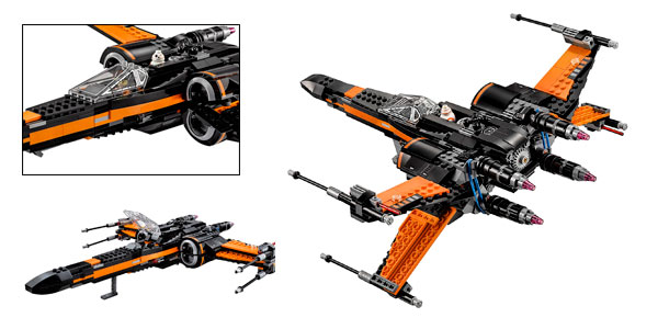 Nave Poe's X-Wing Fighter rebajada en Amazon