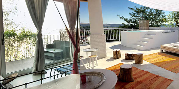alojamiento con cena y SPA hidromasaje Barcelona oferta