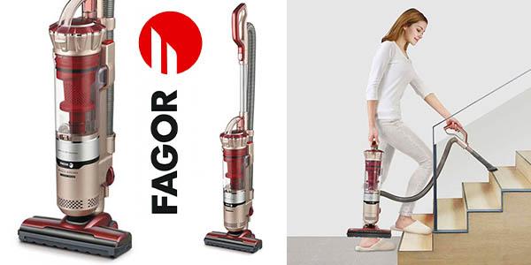 aspirador escoba y mano Fagor VC·-821DC potente y silencioso barato
