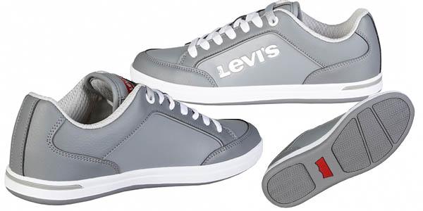 bambas cómodas de estilo skate Levi's Axel chollo