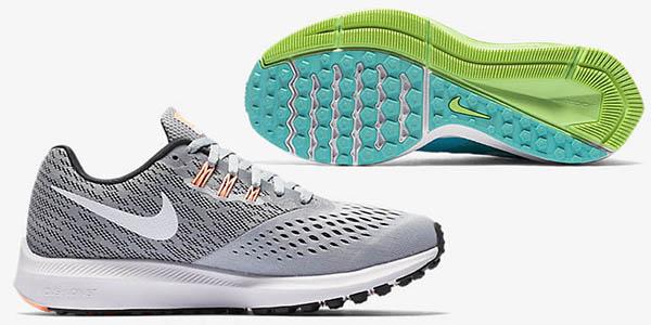 bambas Nike Zoom Winflo 4 amortiguación óptima y ligeras