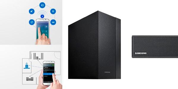 Barra de sonido Samsung HWK450 inallámbrica Bluetooth con subwoofer al mejor precio de internet