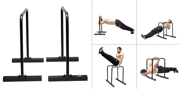Barras paralelas de entrenamiento Gravity Fitness