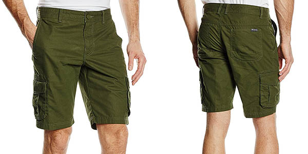 bermudas Columbia Chatfield hombre chollo
