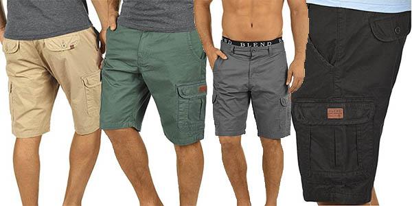 Blend Crixus pantalones cargo cortos para hombre baratos