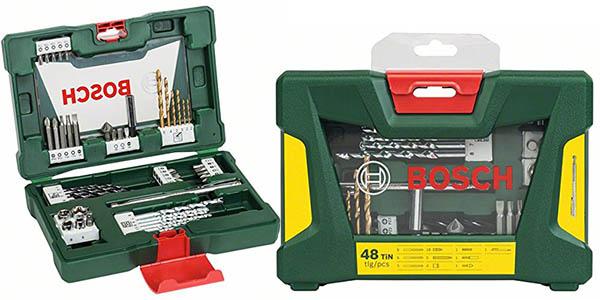 Bosch V-Line maletín 48 brocas y puntas barato