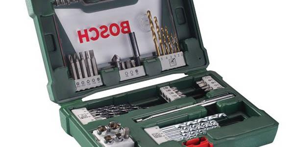 Bosch V-Line maletín con brocas chollo