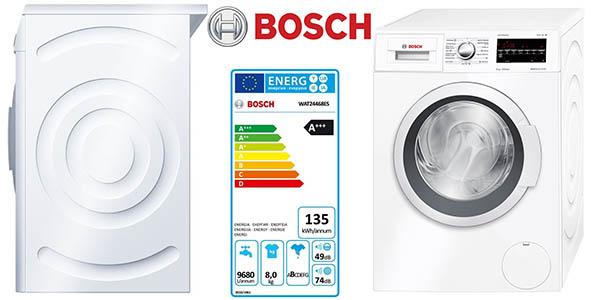 Bosch WAT24468ES lavadora 8Kg carga frontal clase AAA barata