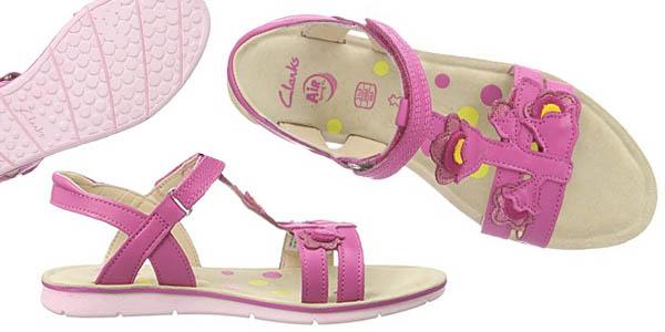 calzado cómodo niñas Clarks Mimo Gracie
