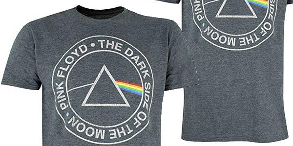 camiseta para hombre Pink Floyd oficial chollo