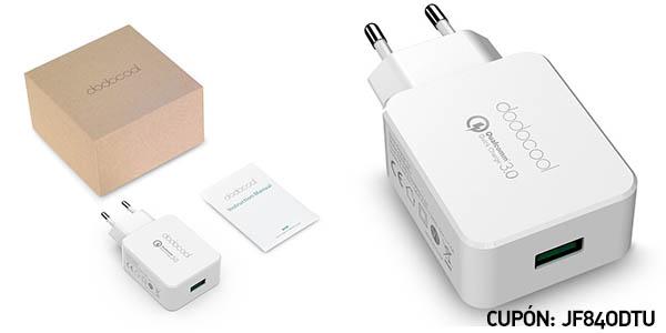 Cargador USB dodocool Qualcomm Quick Charge 3.0: