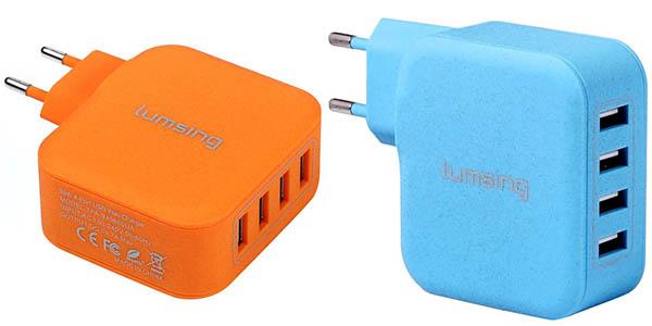 Cargadores USB multiples Lumsing