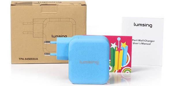 Cargadores USB Lumsing con cupón descuento