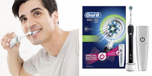 Cepillo eléctrico recargable Oral-B Pro 750 CrossAction