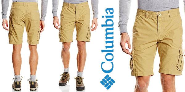 Columbia Chatfield Range pantalones cortos para hombre baratos