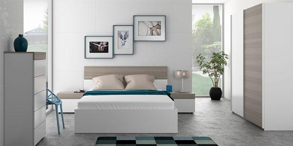 Conjunto cabezal y mesitas dormitorio Due Home chollazo en eBay