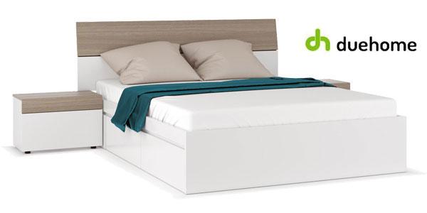 Conjunto cabezal y mesitas dormitorio Due Home barato en eBay