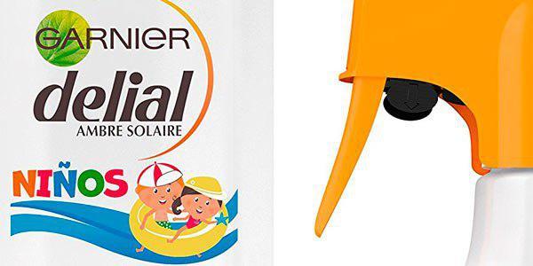 Crema protectora solar Garnier Delial 50+ de 300 ml para niños