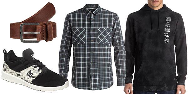 descuentos en ropa calzado y complementos Quiksilver y DC Shoes