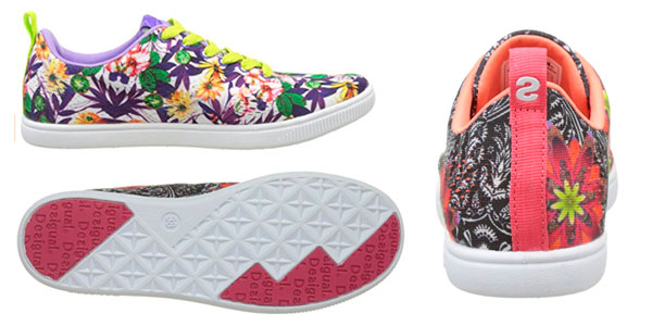 Zapatillas Desigual Candem Sneakers para mujer con estampado de verano