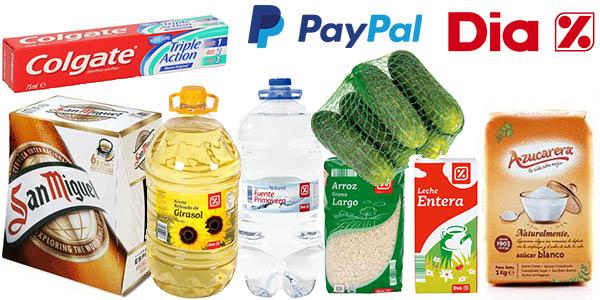 DIA Online descuento PayPal junio 2017