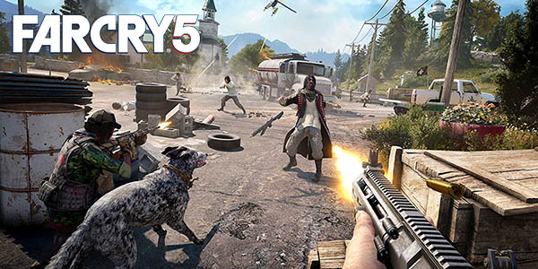Far Cry 5 barato par PS4 y Xbox One