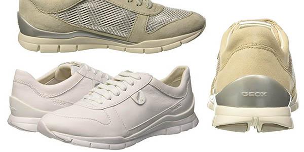 Geox D Sukie A zapatillas para mujer chollo