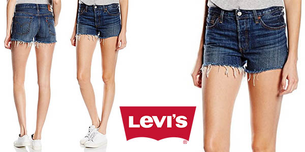 Levi's 501 Short mujer baratos