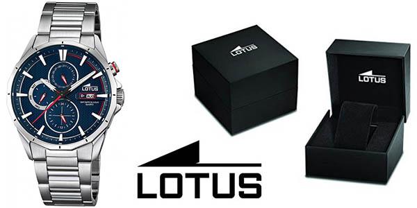 Lotus 18319/2 reloj de pulsera para hombre con correa en acero inoxidable barato