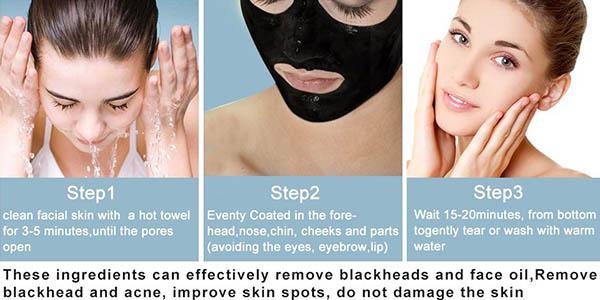 mascarilla facial contra impurezas y acné resultados visibles rápidos