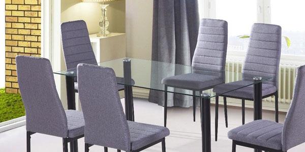 Mesa diseño moderno Due Home negra barata en eBay