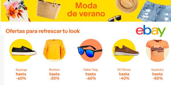 Moda de verano rebajada en eBay con ofertas en ropa y calzado para hombre y mujer