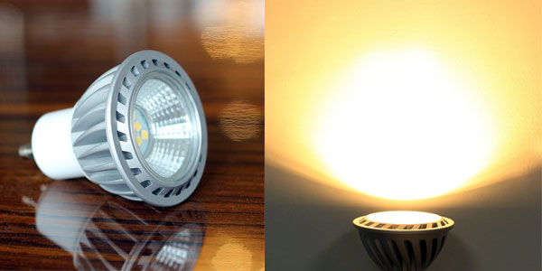 Pack 6 bombillas LED GU10 de 6W chollazo en Amazon