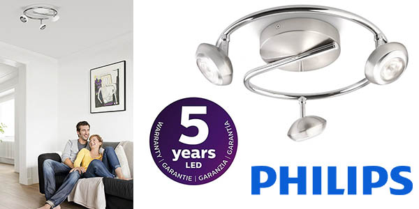Philips myLiving sepia foco 3 LED barato