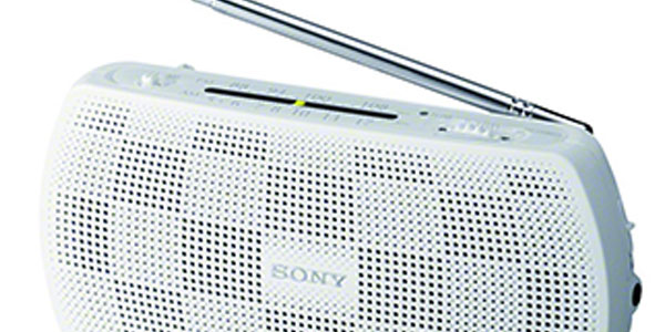 Radio portátil Sony SRF18W FM estéreo