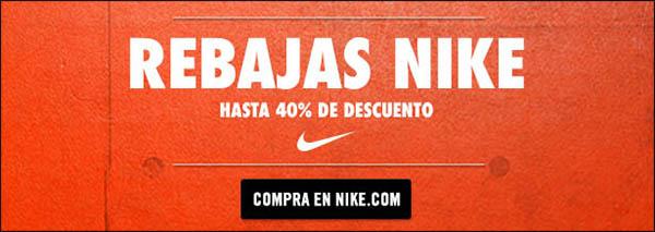 Aprovecha las rebajas Nike