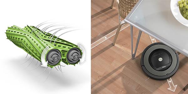 robot inteligente Roomba 866 sensores