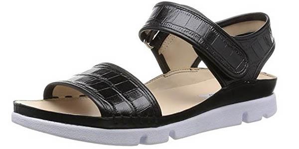 sandalias cómodas Clarks Tri Nova chollo