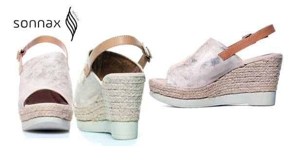 Pack 2 pares de sandalias de cuña Sonnax baratas en eBay