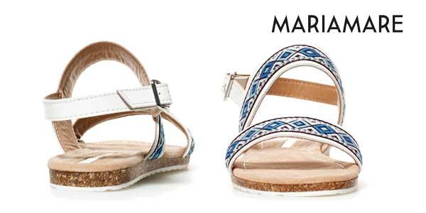 Sandalias planas Maria Mare chollazo en eBay