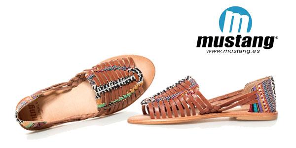 Sandalias de piel multicolores étnicas Mahi de Mustang chollazo en eBay