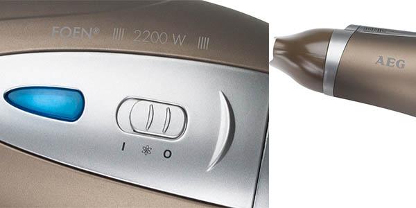 secador de pelo AEG HTD-5584 potente con difusor y boquilla concentradora