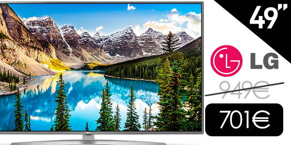 Smart TV LG 49UJ670V UHD 4K HDR de 49""