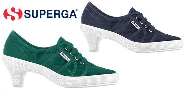 Superga Low Heel Heritage zapatos con suela de goma para mujer baratos