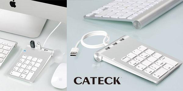 Teclado numérico Cateck barato en Amazon