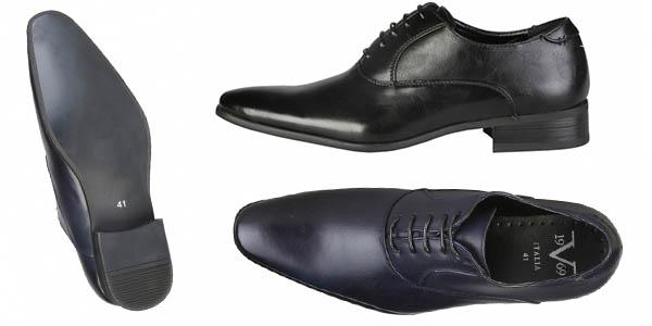 Versace Jonas zapatos piel elegantes de punta afilada chollo