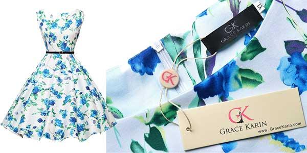Vestido fifties Grace Karin chollo en Amazon